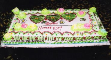 Happy Nurses day Occasion in Indo American Nursing College Moga