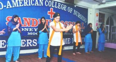 Indo American College of Nursing Moga Fresher's Night