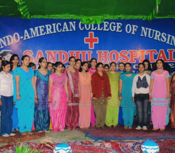 Best Punjab Nursing College Freshers Welcome