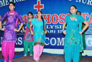 Best Nursing College Punjab Freshers Welcome Event