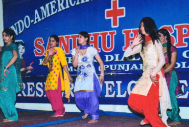 Best B.Sc Nursing College Punjab Freshers Welcome Event