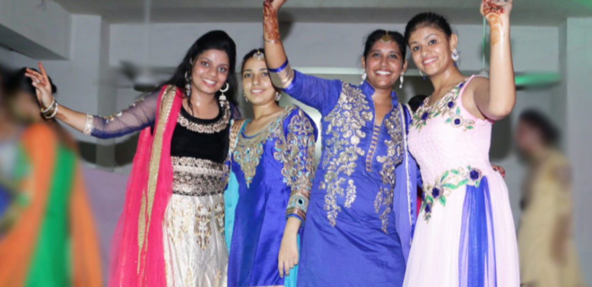 Indo American College of Nursing Moga Punjab Farewell Party